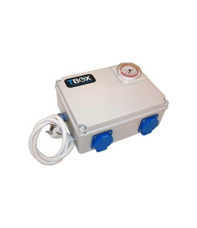 Zeitschaltuhr-T-Box