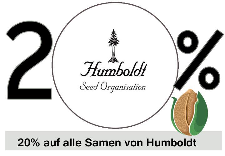 Prozente auf alle Humboldt Seeds