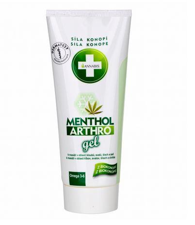 Menthol Arthro Gel, kühlendes Massagegel
