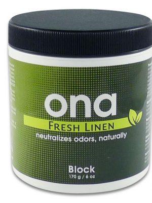 ONA BLOCK FREH LINEN, der beste Geruchsneutralisator beim Cannabis Grow