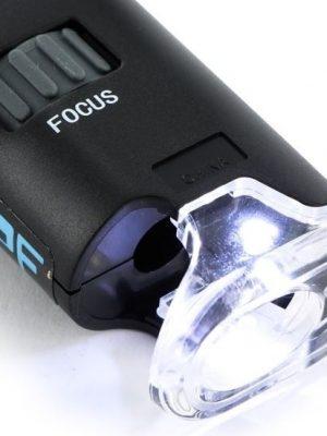 420 Scope, Mikroskop mit 60-100facher Vergrösserung