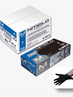 nitril handschuhe m einmalgebrauch 100 st ck schwarz. Black Bedroom Furniture Sets. Home Design Ideas