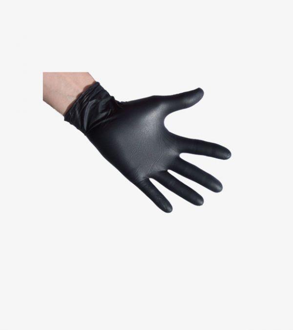 Nitril-handschuhe-schwarz