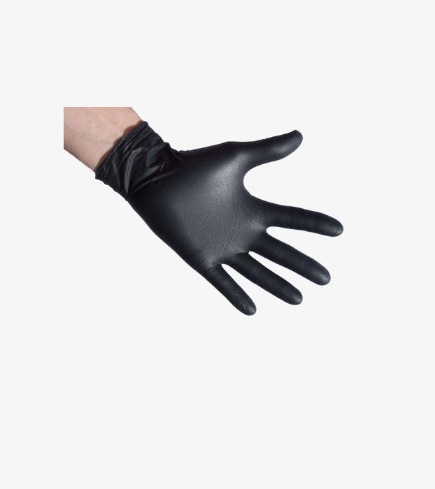 nitril handschuhe m einmalgebrauch 100 st ck schwarz 1000seeds. Black Bedroom Furniture Sets. Home Design Ideas