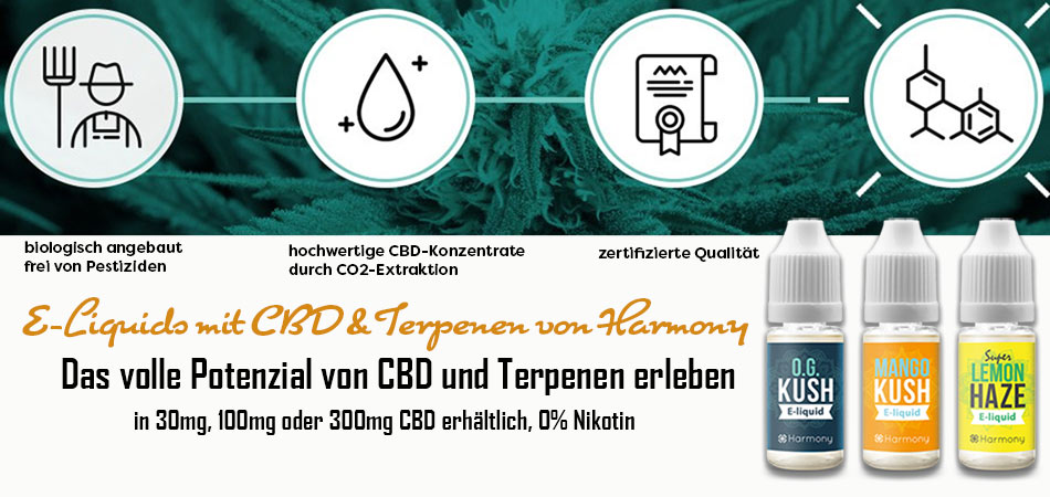 CBD-Liquids mit Terpenen