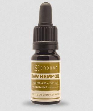 Raw Hemp Oil, 1500mg CBD