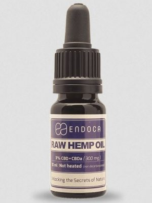 Raw Hemp Oil, 300mg CBD