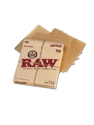 Raw-Pergamentpapier