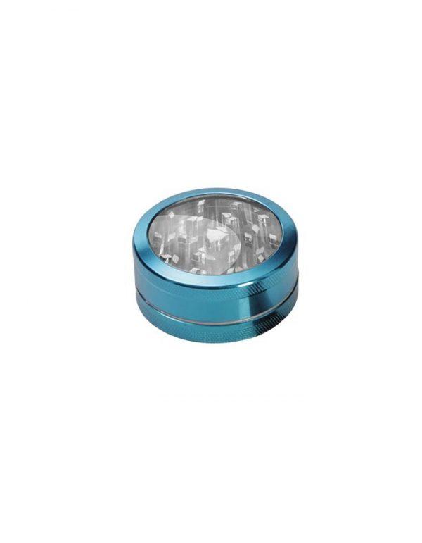 Grinder-Sichtfenster-hellblau