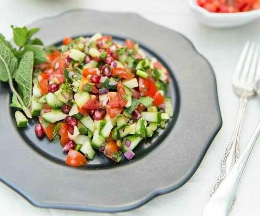 Kachumber-Salat