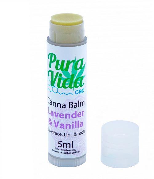 CBD Balm Stick Lavendel und Vanille