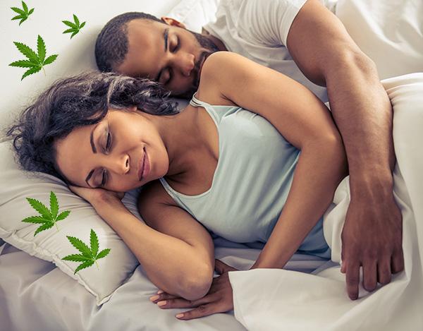 Cannabis-Sorten-Schlaf