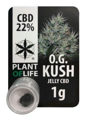 CBD Jelly OG Kush (Plant of Life), 22% CBD, 1g