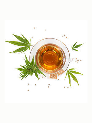 Cannabis-Infusionen / Hanftees