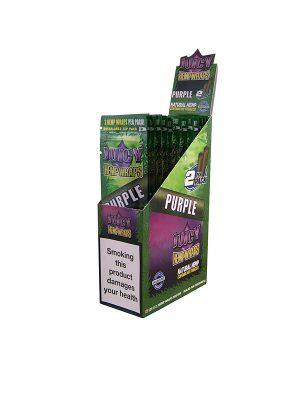 Hemp Wraps Juicy Jay`s Purple, 2 pro Pack
