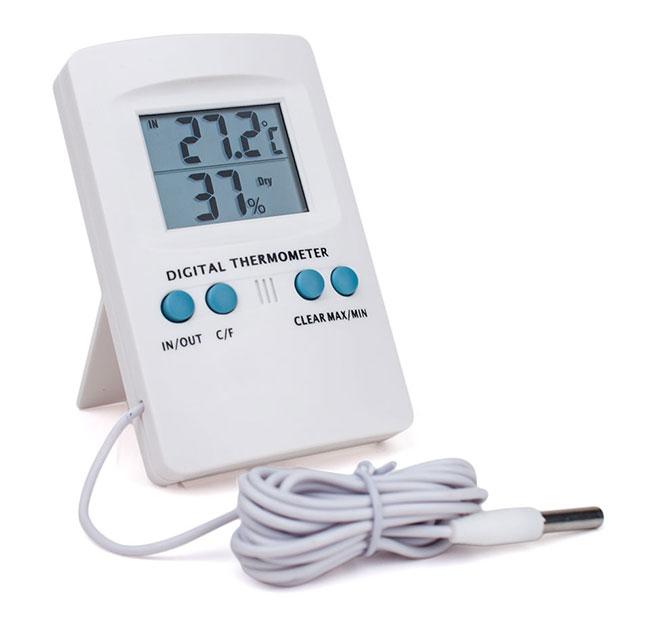 Temperaturkontrolle-Grow