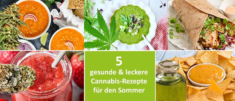 Cannabis-Rezepte-Sommer