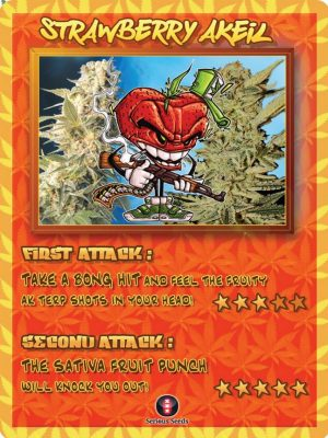 Strawberry AKeil Trading Card
