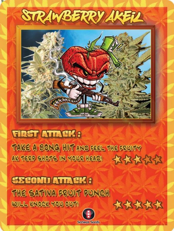 Strawberry AKeil Trading Card