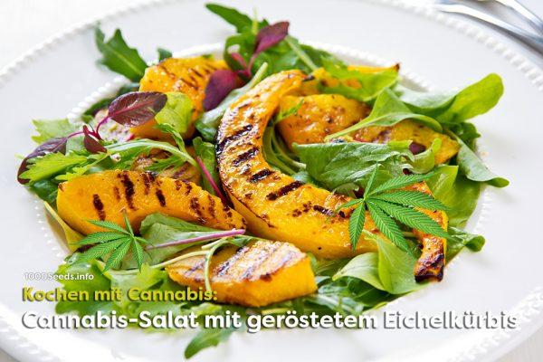 Cannabis-Salat