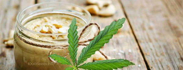 Cashewcreme-Cannabis-infundiert