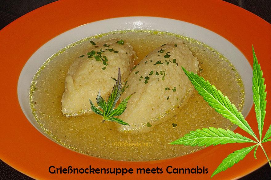Nockensuppe-Cannabis